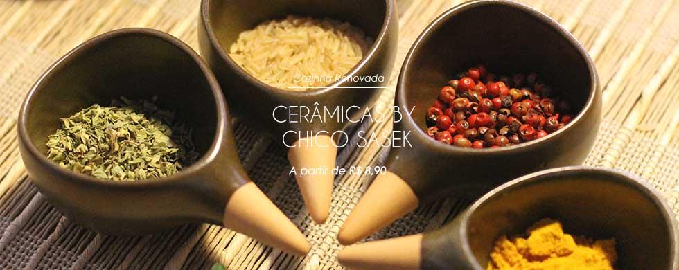 Cerâmicas Esmaltadas para Cozinha by Chico Sasek