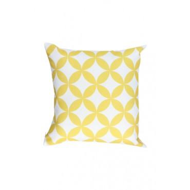 Almofada Geométrica Amarela Coleção Alegra