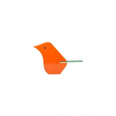 Bird Decorativo Laranja by Patrícia Maranhão
