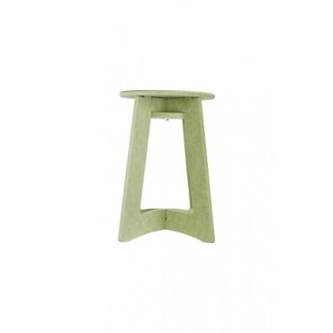 Banco Verde Oval Para Montar by Oficina 021 (45 cm x 30 cm)