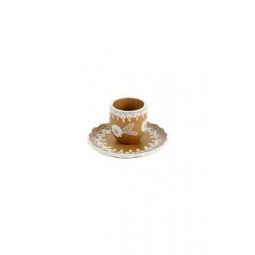 Conjunto em Cerâmica by Coqueiro Campo- (11 cm x 16cm)