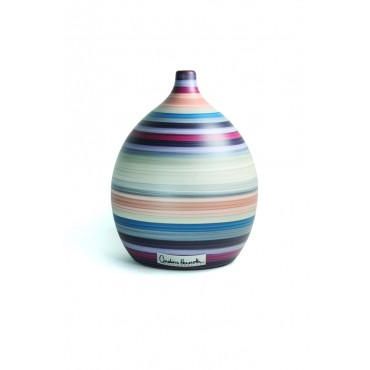 Vaso Decorativo de Cerâmica Coleção Carmim by Carolina Haveroth 02