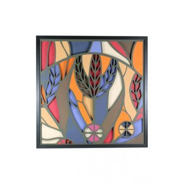 Painel Floresta Mágica 2 by Enrique Rodríguez - 55x55 cm
