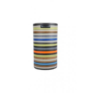 Porta Velas de Cerâmica Colorida Coleção Cannes by Carolina Haveroth 01