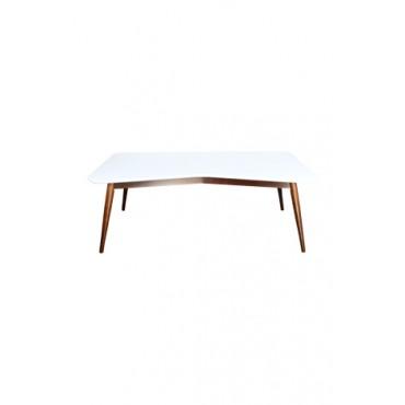 Mesa de Centro Branca W (58 cm x 40 cm x 1,13 m)