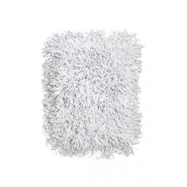 Tapete Cabeludo 60 x 40 cm - Branco - Coleção Mirabile Essential