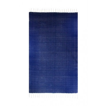 Tapete Tear Manual Liso Azul Marinho Linha Essential by Mirabile Decor - 1,2 x 2,1m