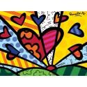 "Poster ""A New Day"" by Romero Britto -  85 x 63 cm"
