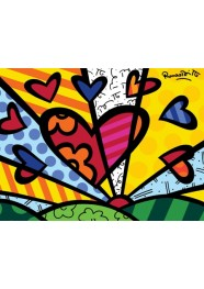 Poster A New Day by Romero Britto