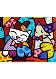 Poster Snob Dog by Romero Britto