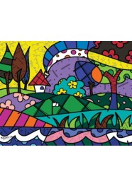 Poster A Perfect Day by Romero Britto