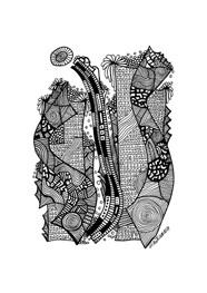 Poster Cenas Urbanas 03 by Milton Toledo