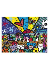 Poster In The Park by Romero Britto - 75 x 60 cm