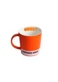 Caneca Profissão (irmão) - 9x9x9cm - Coleção Mirabile Essential - 400ml