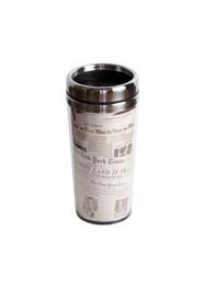 Copo Térmico (jornais) - 17x8x8cm (450 ml) - Coleção Mirabile Essential