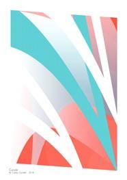 Poster Curvas 29,7 x 42,0 cm - Coleção Hairpin Elegance - by Studio Mirabile