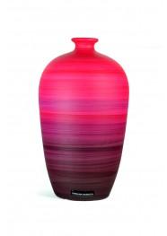 Vaso Decorativo de Cerâmica Pintada Coleção Rouge by Carolina Haveroth 02