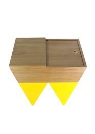 Mesa Lateral Box Jequitibá by Adalberto Santana