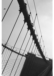 "Fotografia ""The Brooklyn Bridge 01 - New York - 2012"" by Carlos Gondim"
