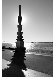 "Fotografia em Preto e Branco ""Battery Park - New York - 2012"" by Carlos Gondim"