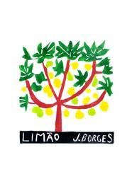 Xilogravura Limão by J. Borges