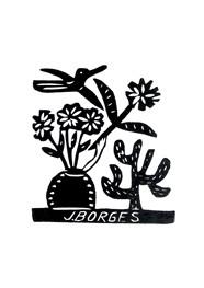 Xilogravura by J. Borges - Sem Nome 01 (33 x 24 cm)