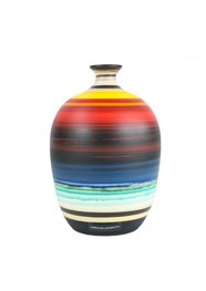 Vaso de Cerâmica Pintada Colorido Coleção Atacama by Carolina Haveroth 02