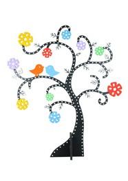 Árvore Pássaros by Aline Maia - 40 cm