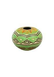 Joaçaba Verde com Textura by Polo Ceramista de Icoaraci (17 cm x 22 cm)
