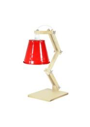 Luminária de Mesa Sixties Vermelha by Carlos Siqueira