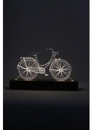 Luminária em Acrílico Bicicleta Holandesa by Oficina 021