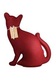 Peso de Porta e Aparador Gato Vermelho G by Paola Abiko 2