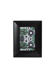 Porta Retrato em Madeira Preta com Vidro - 21x16x12cm - Coleção Mirabile Essential