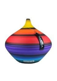 Vaso em Cerâmica Pintada Coleção Multicolor by Carolina Haveroth