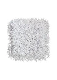 Tapete Cabeludo 45 x 45 cm - Branco - Coleção Mirabile Essential