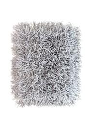 Tapete Cabeludo 60 x 40 cm - Cinza - Coleção Mirabile Essential