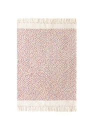 Tapete em Tear Manual Geométrico Colorido 47cm x 70cm by Mirabile Essential