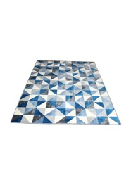 Tapete Geométrico Azul Linha Mirabile Essential by Mirabile Decor (1,5m x 2,0m)