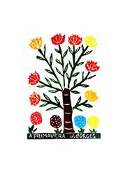 Xilogravura A Primavera by J. Borges (33 cm x 48 cm)
