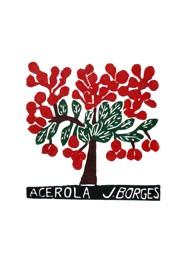 Xilogravura by J. Borges - Acerola (Tamanho 33 x 24 cm)