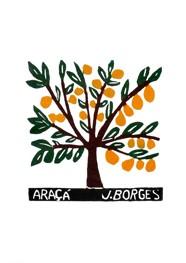 Xilogravura by J. Borges - Araçá (Tamanho 33 x 24 cm)