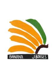 Xilogravura by J. Borges - Banana (Tamanho 33 x 24 cm)