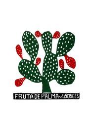 Xilogravura by J. Borges - Fruta de Palma (Tamanho 33 x 24 cm)