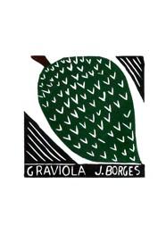 Xilogravura by J. Borges - Graviola (Tamanho 33 x 24 cm)