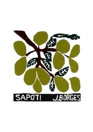 Xilogravura by J. Borges - Sapoti (Tamanho 33 x 24 cm)