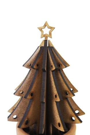 Planta Para Montar Em Mdf árvore De Natal By Oficina 021 Compre