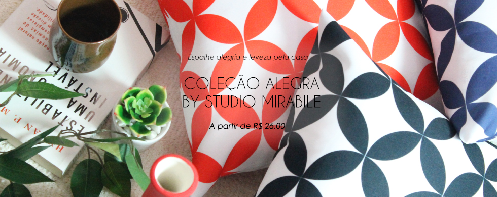 Coleção Alegra by Studio Mirabile