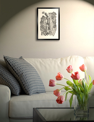 Decoração - Quadros, posters e Obras de Arte