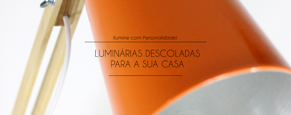 Luminárias Descoladas Mirabile Decor & Design
