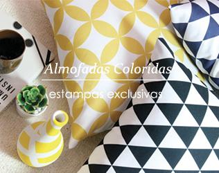 Almofadas coloridas para a sua casa